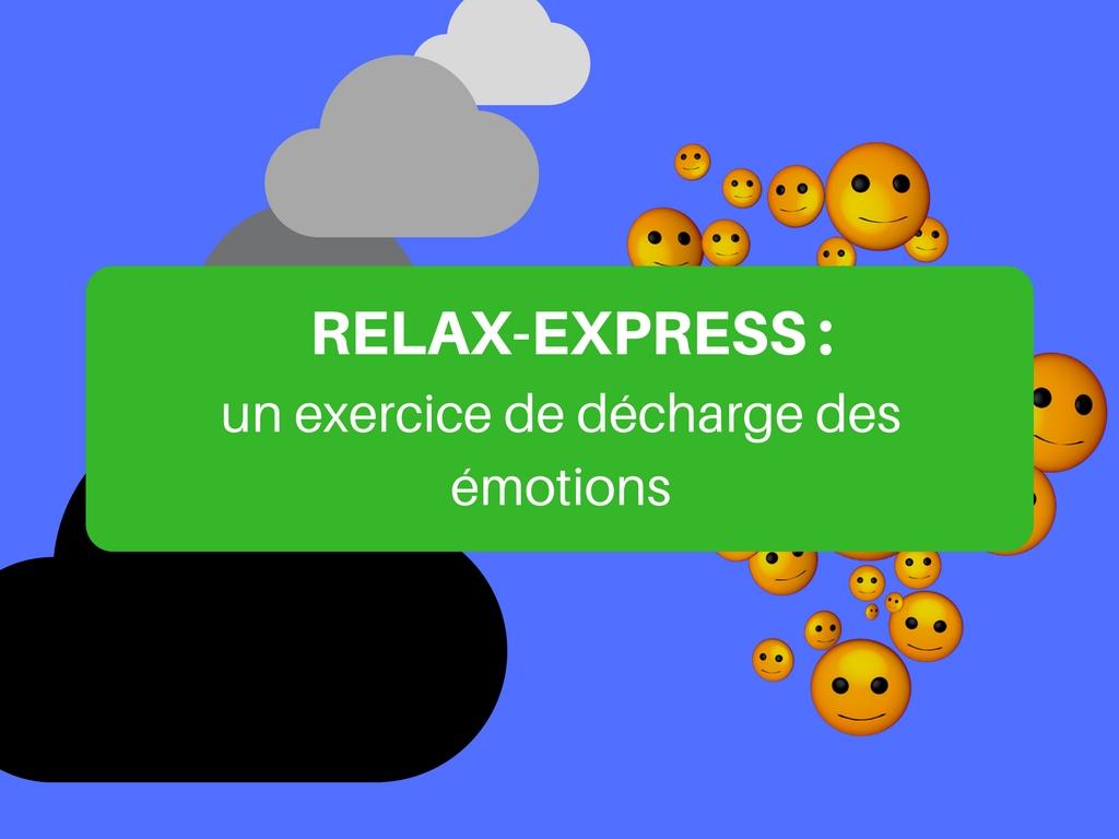 exercice décharge émotions enfants