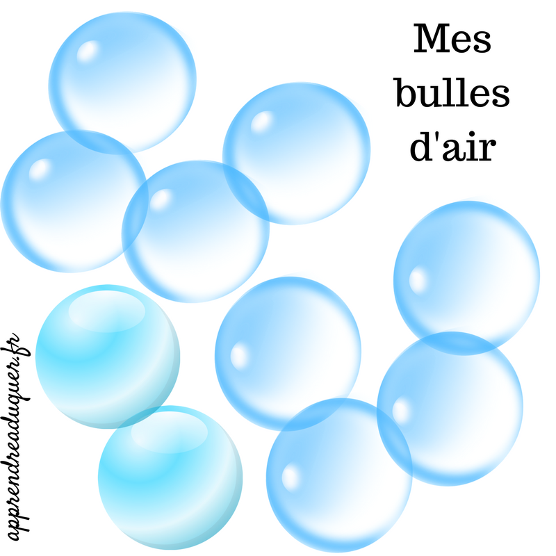 Mes bulles d'air : se recharger et prendre soin de soi quand on est parent