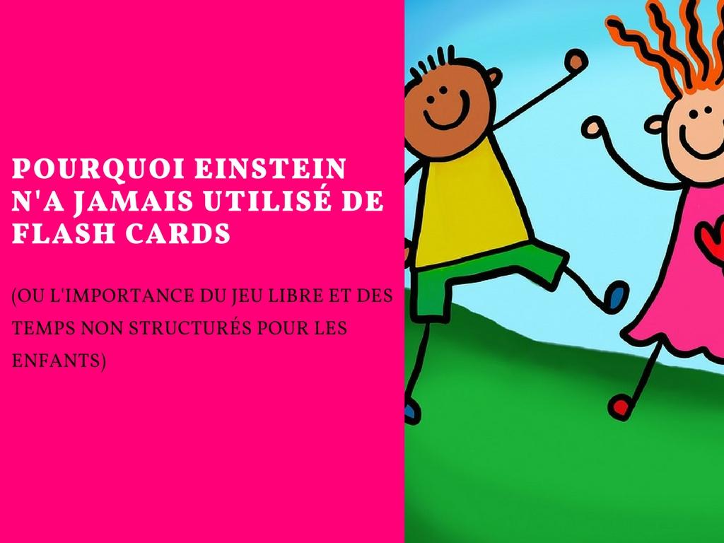 Pourquoi Einstein n'a jamais utilisé de flash cards