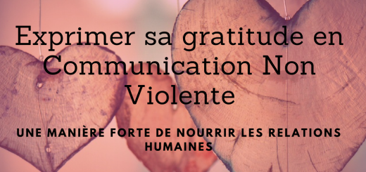 Exprimer sa gratitude en Communication Non Violente