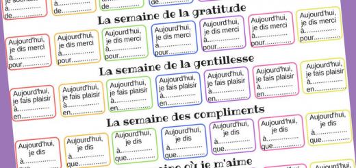 semaine bonne actions psychologie positive enfants