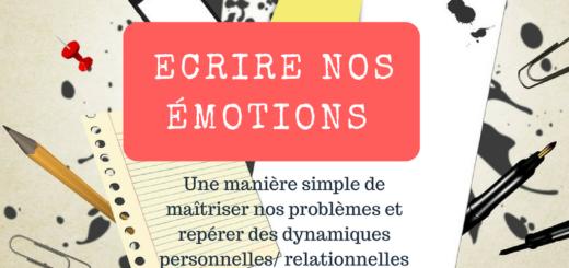 Ecrire émotions aller mieux