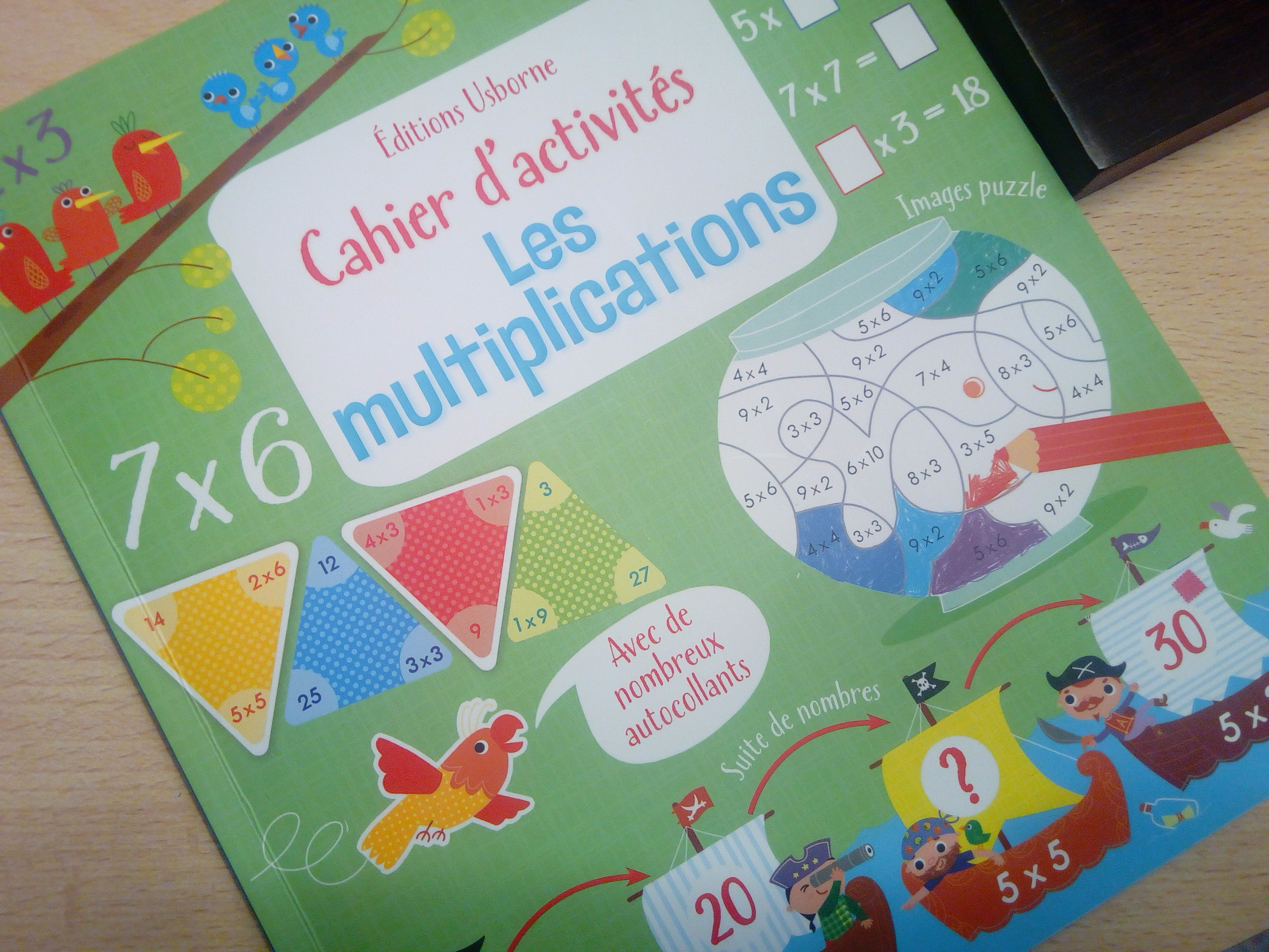 Cahier d 39 activit s les multiplications apprendre les - Apprendre c est table de multiplication ...