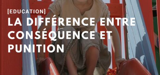 difference entre consequence et punition