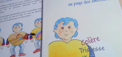 livre matériel émotions enfants