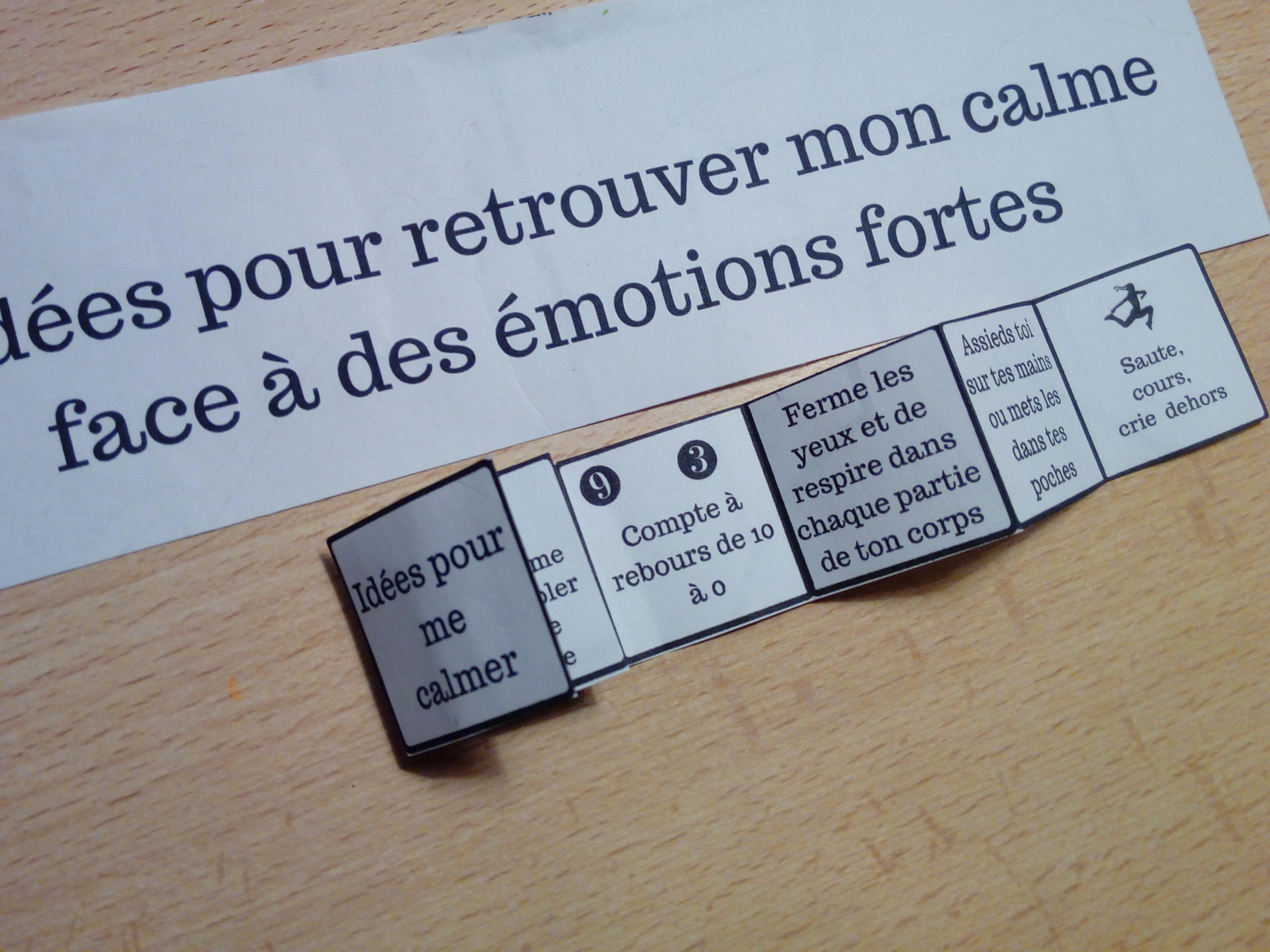livret calmer émotions fortes enfants