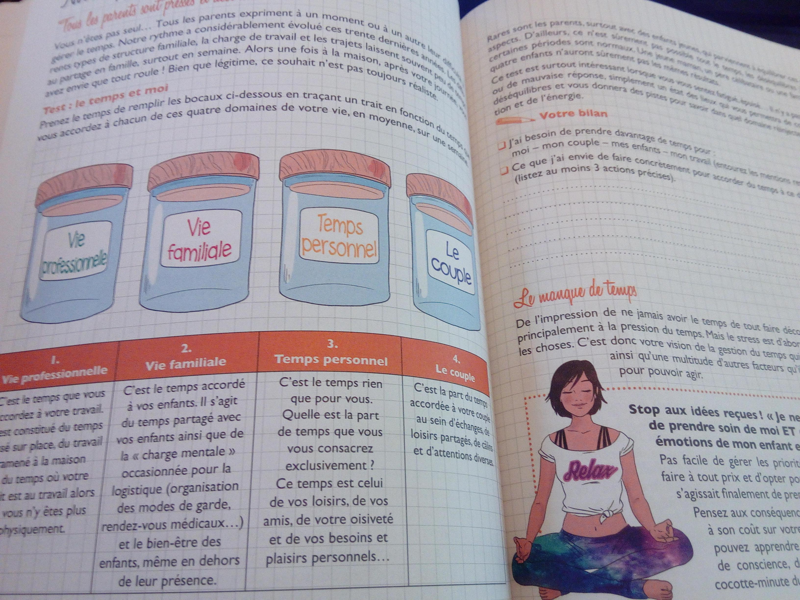 carnet éducation positive