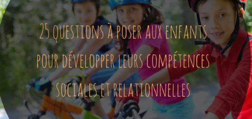 compétences sociales et relationnelles enfants