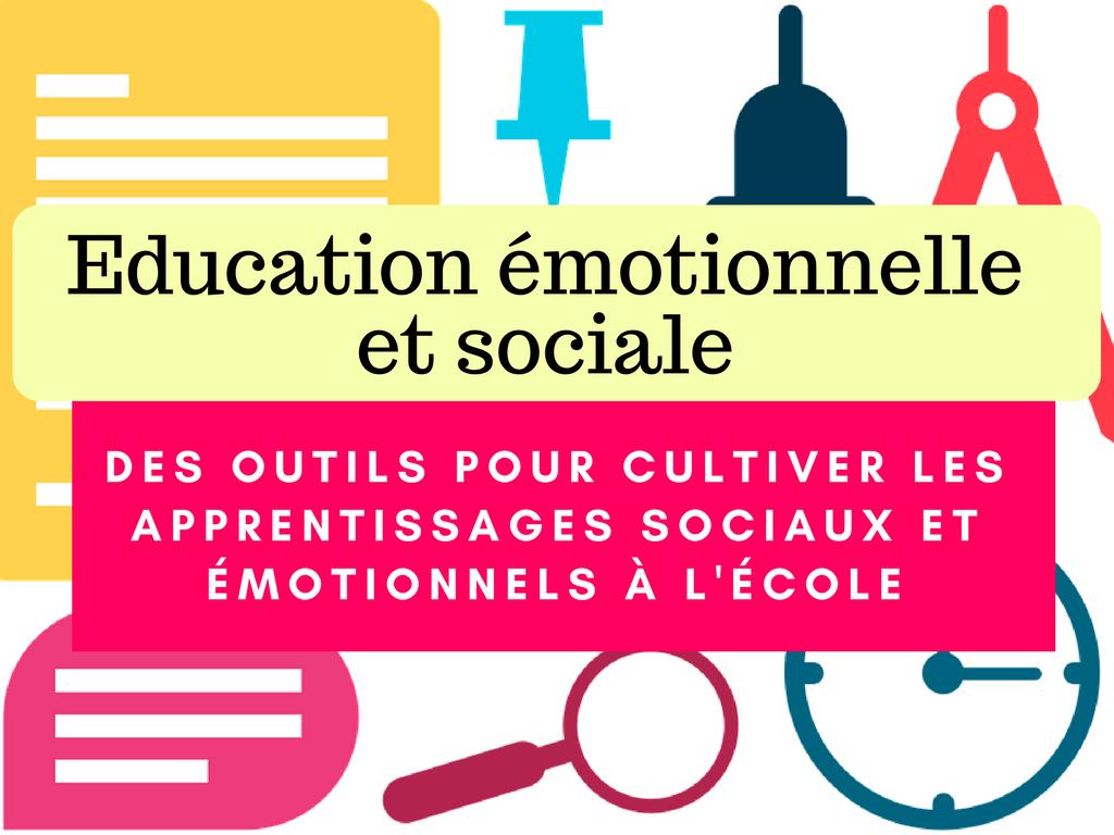 outils éducation émotionnelle et sociale