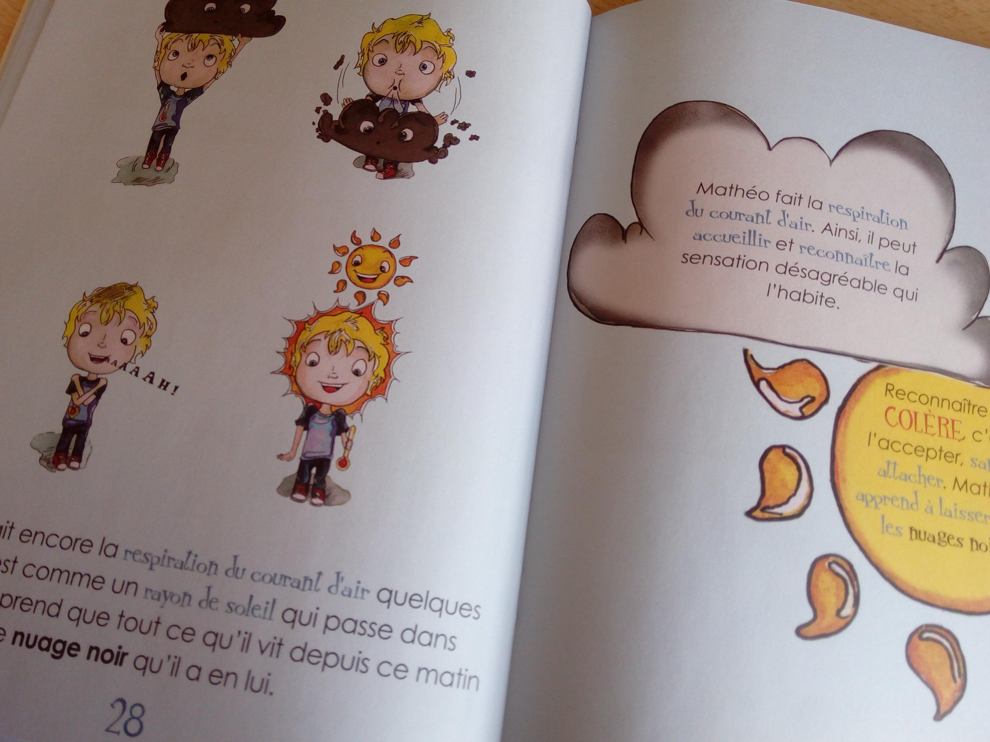 livre enfants parler des émotions