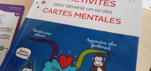 cahier apprendre faire cartes mentales enfants