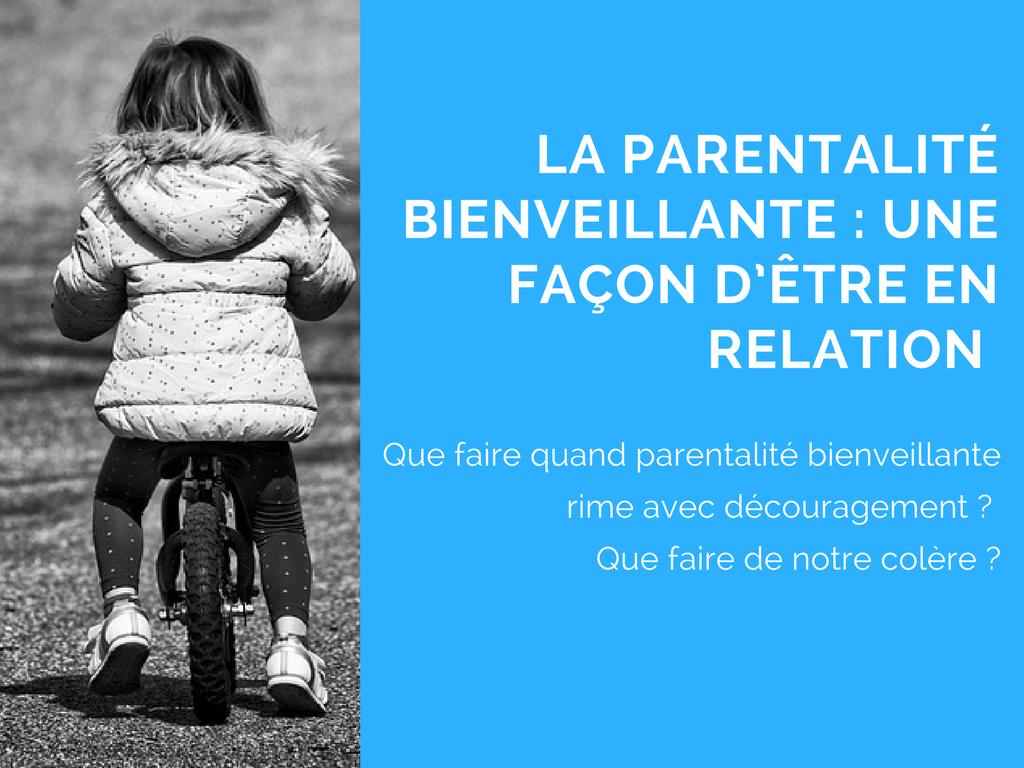 colère relation parentalité bienveillante