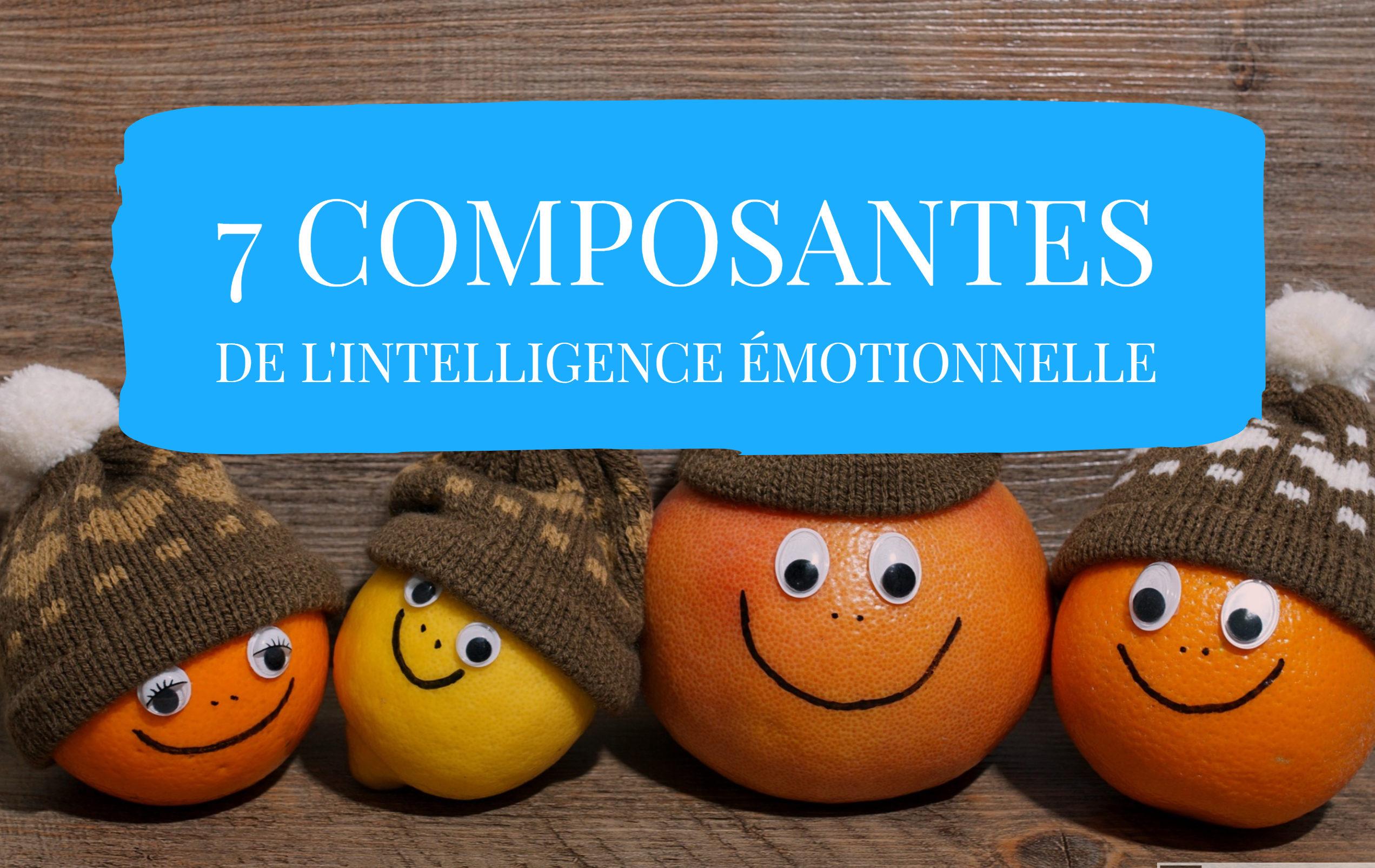 composantes de l'intelligence émotionnelle