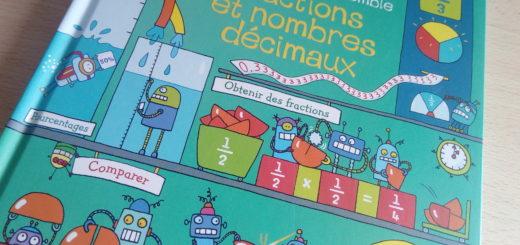 livre enfants fraction nombres décimaux
