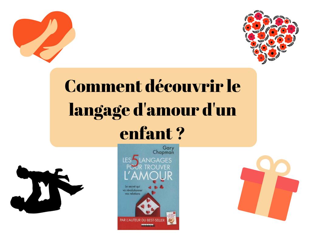 Comment découvrir le langage d'amour d'un enfant _