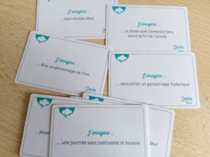cartes deux minutes ensemble parents enfants