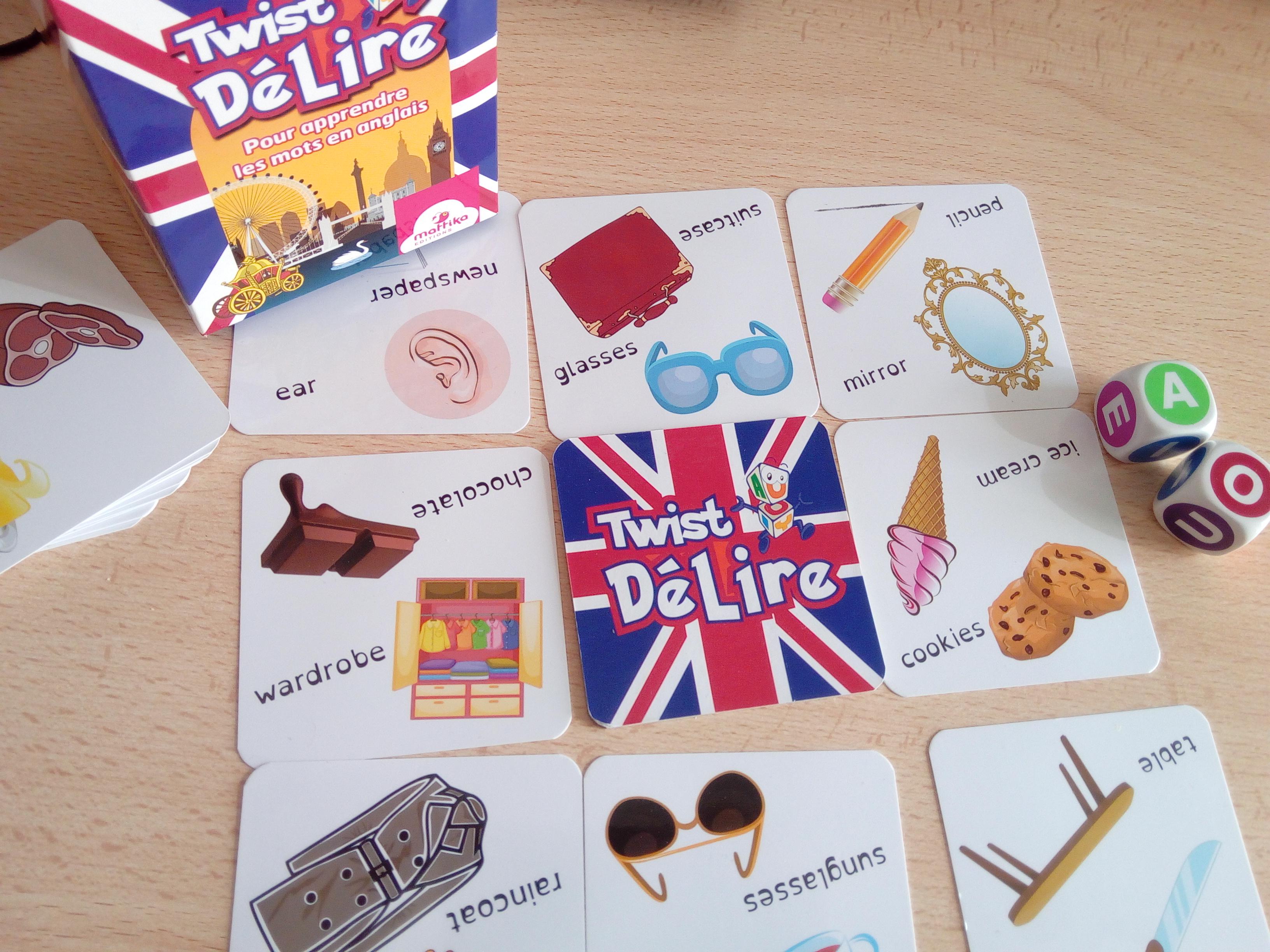 jeu apprendre des mots en anglais