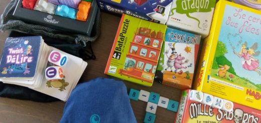 jeux poche enfants vacances