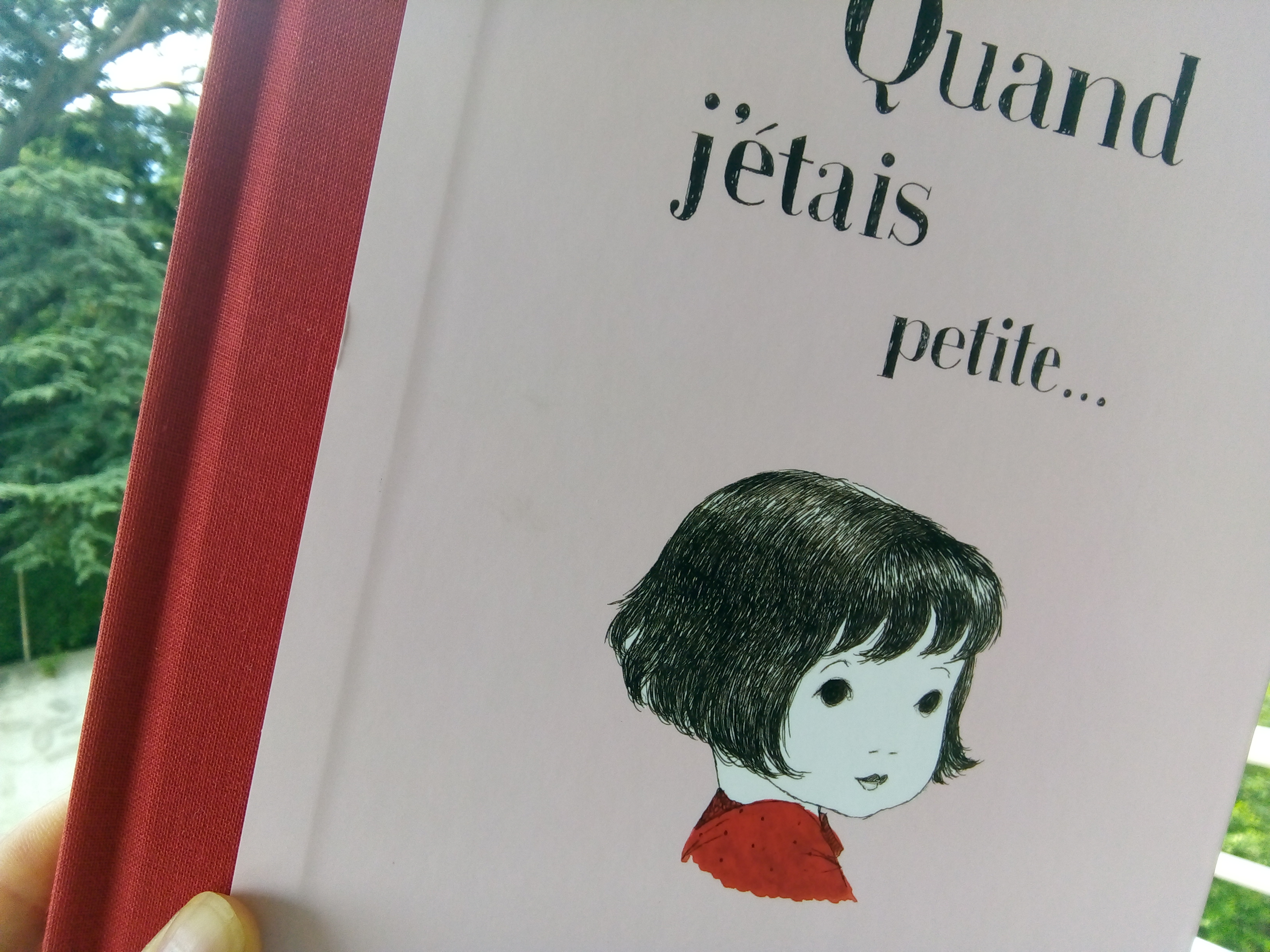 livre enfant quand j etais petite