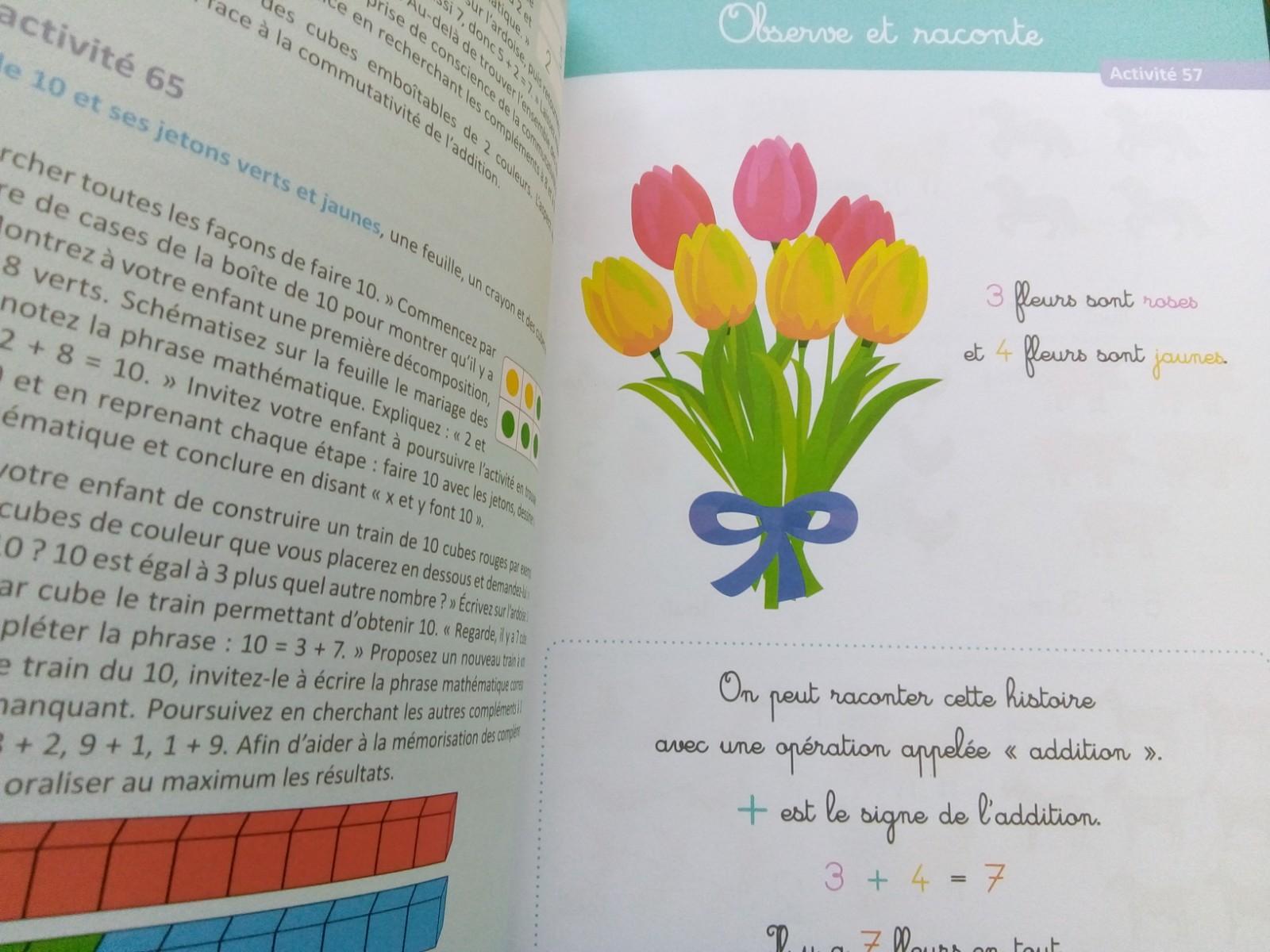 activités maths singapour maternelle