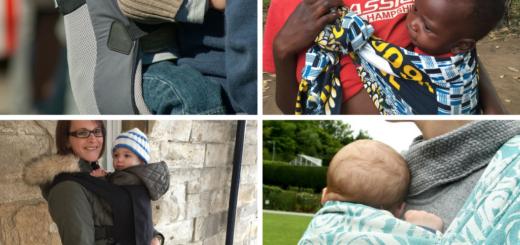 bienfaits du portage chez les bébés