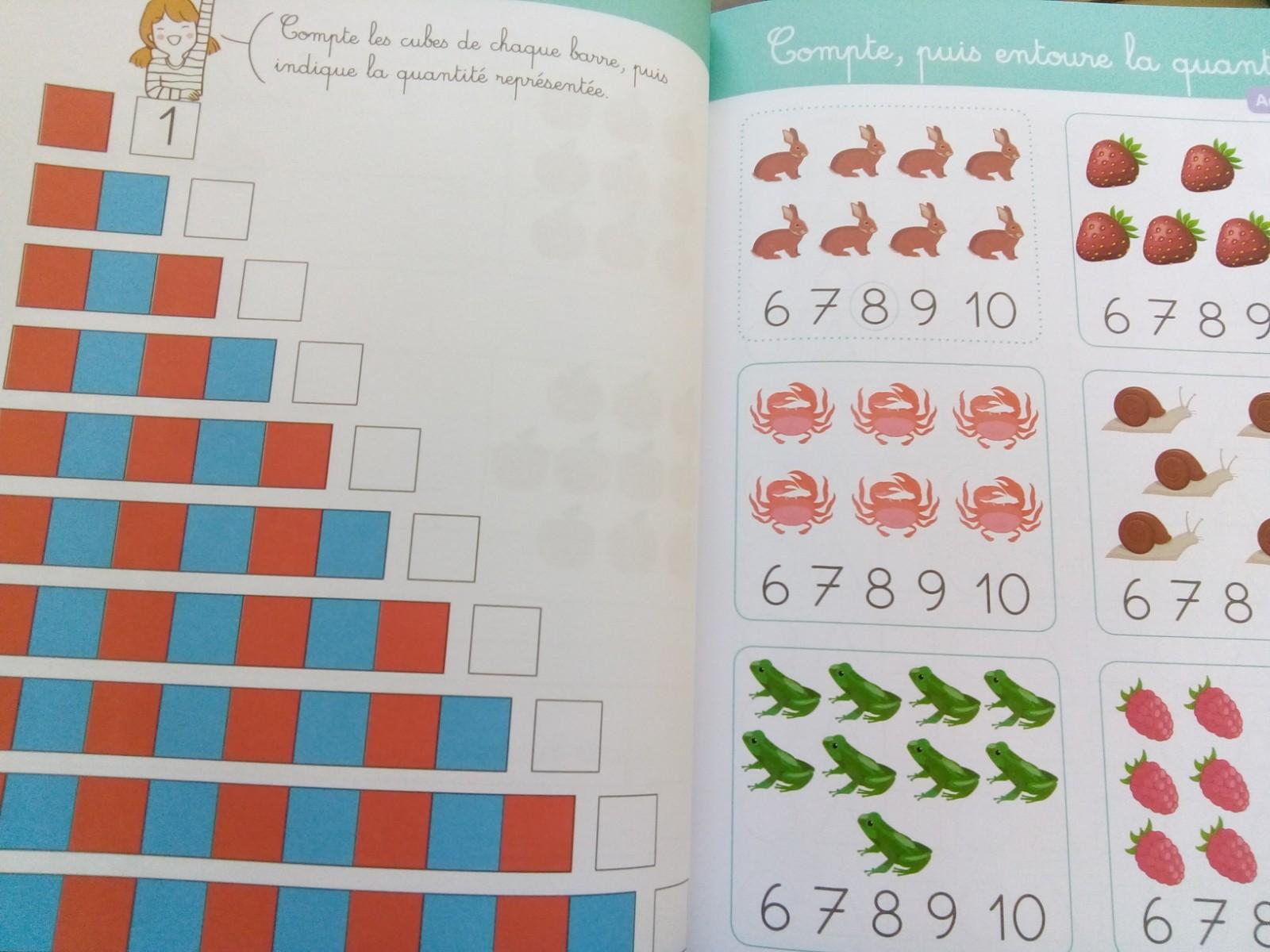 cahier activités maths singapour gs