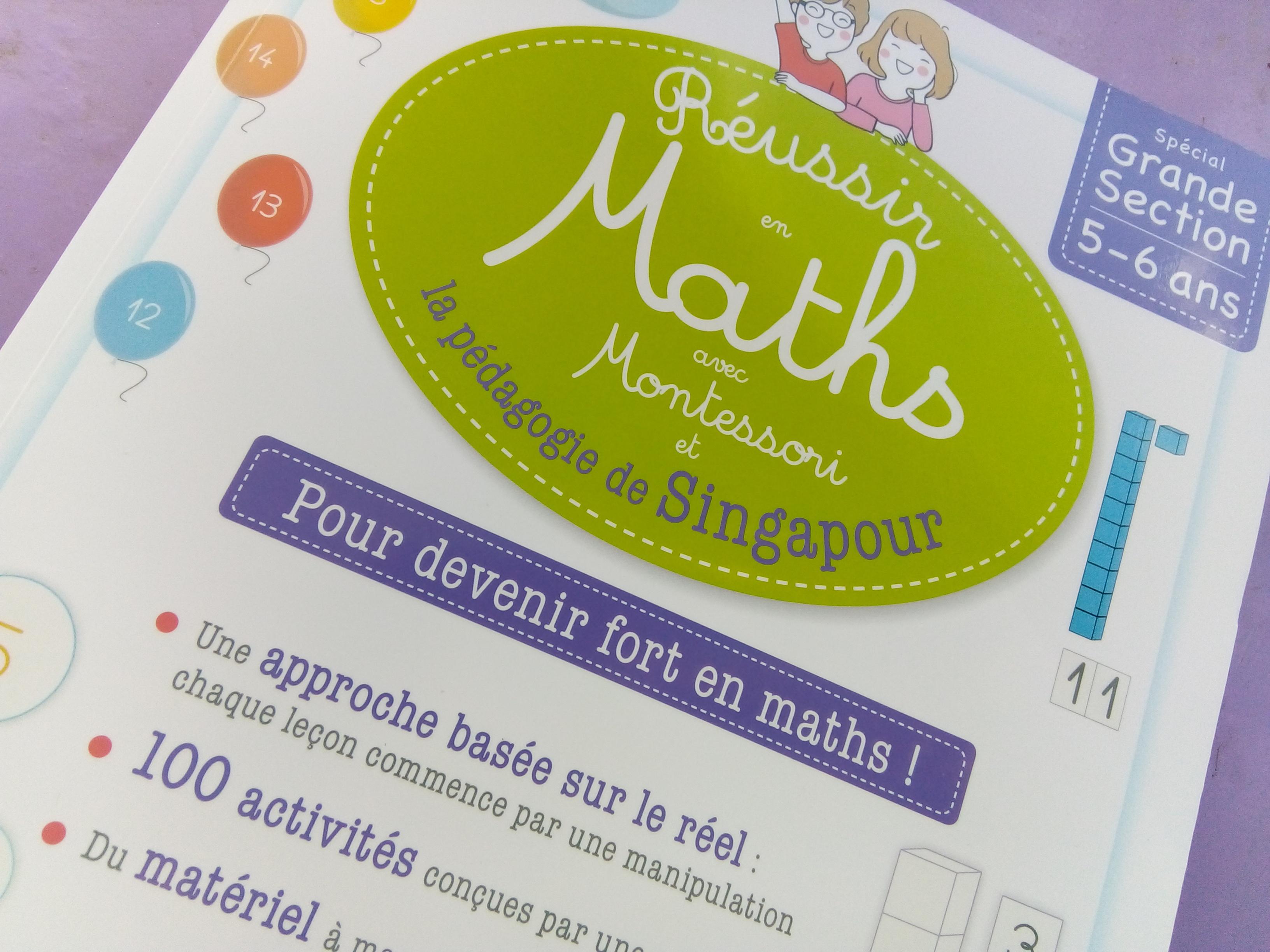 cahier activités maths singapour maternelle