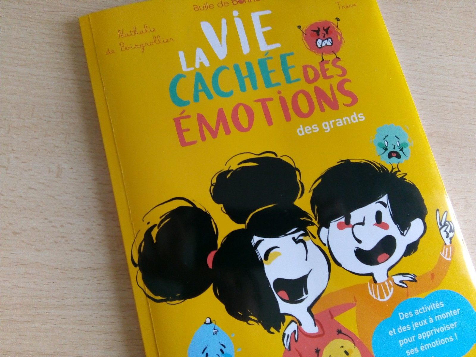 cahier émotions enfants