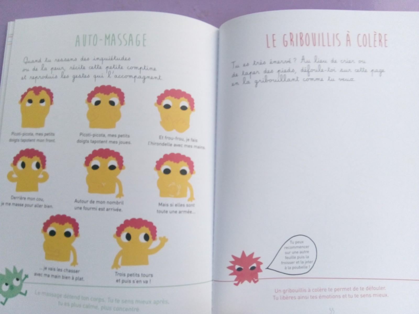 cahier découvrir émotions petits
