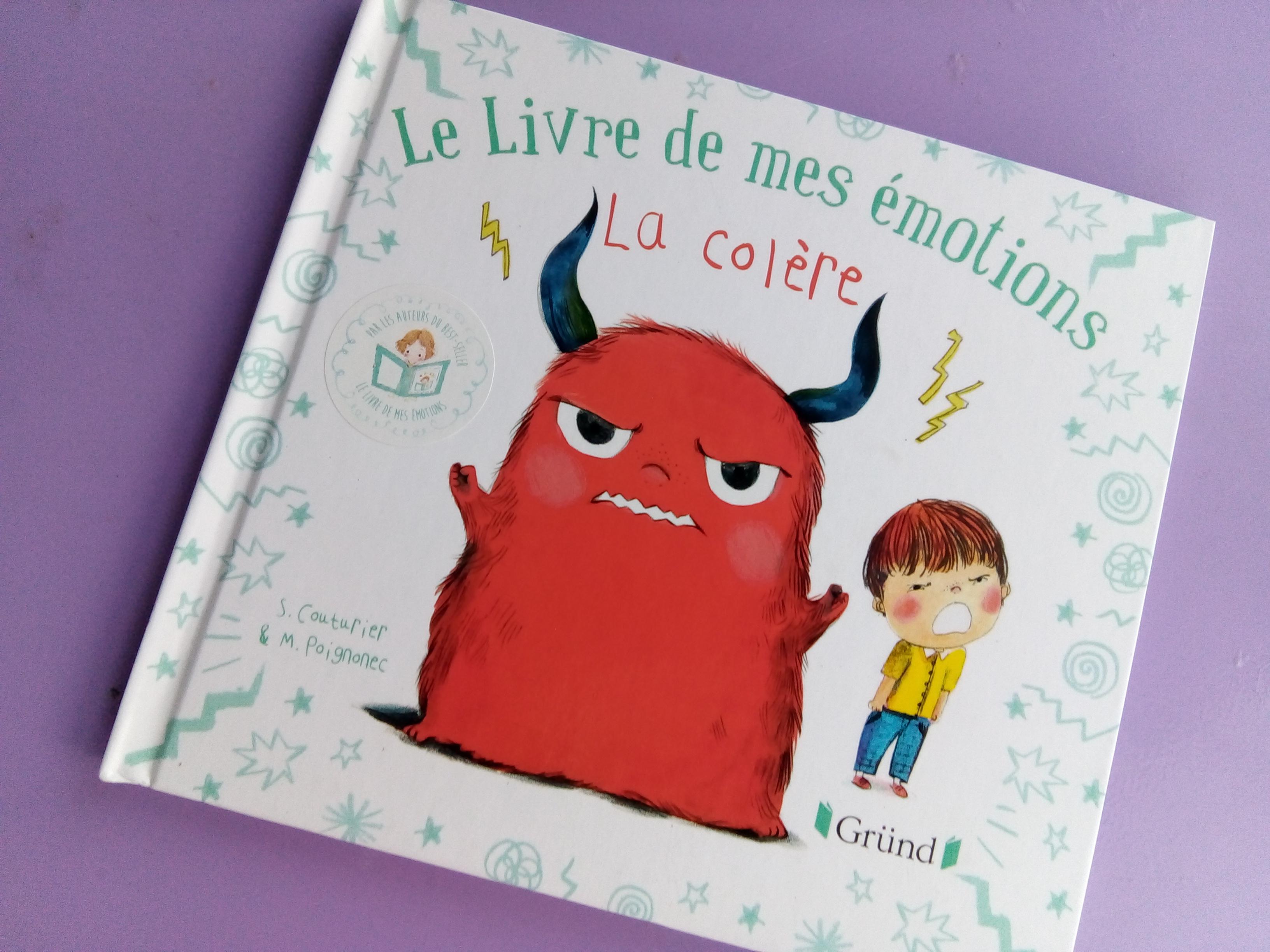 livre de colère enfants