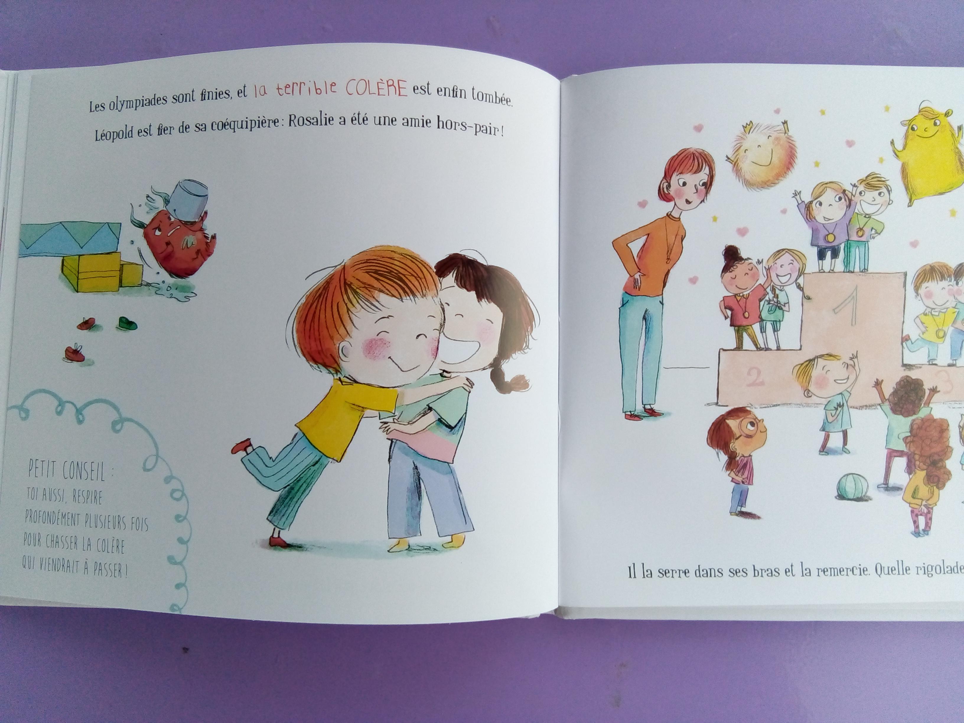 livre de mes émotions colère enfants