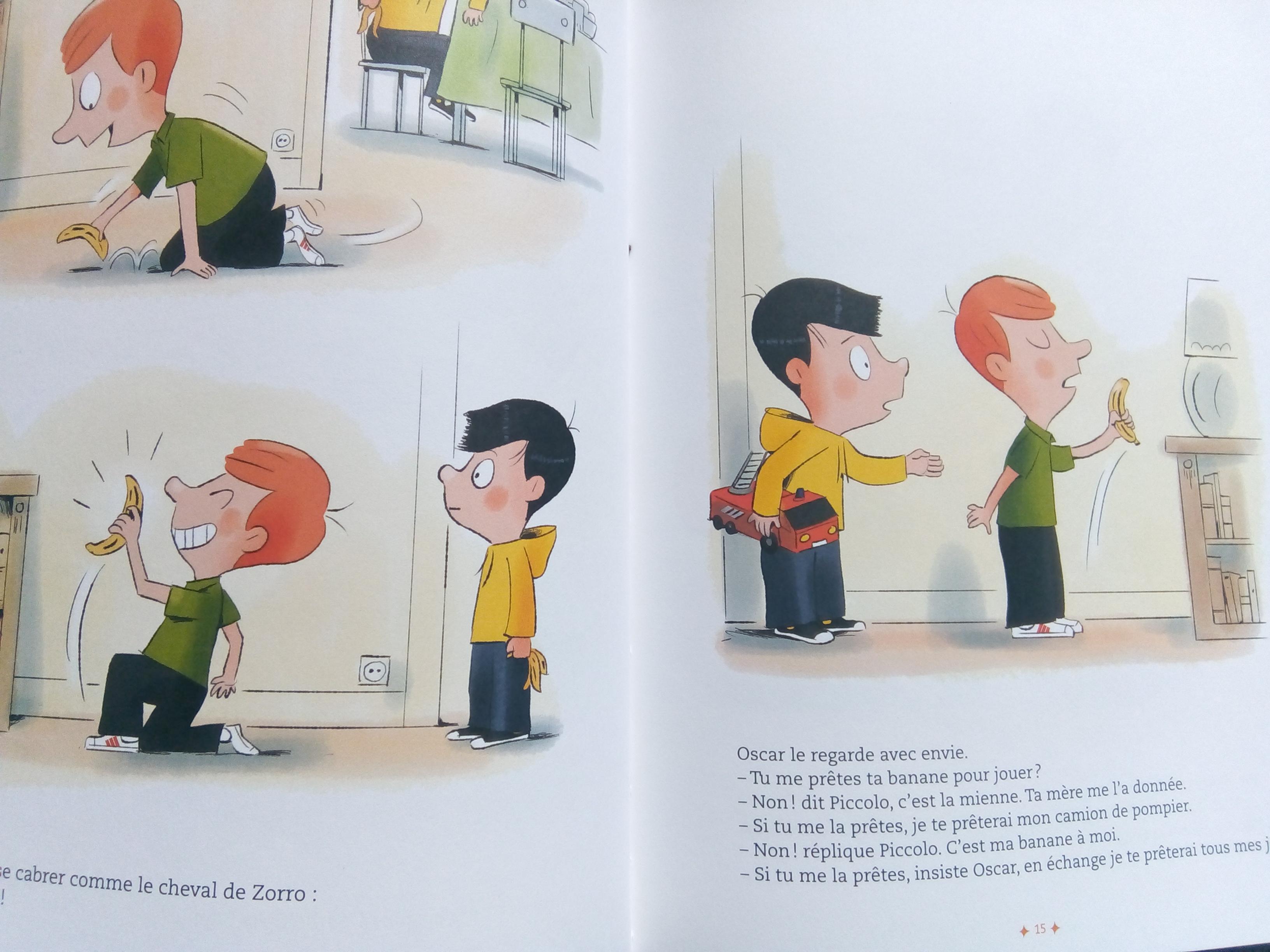 livre enfant partager