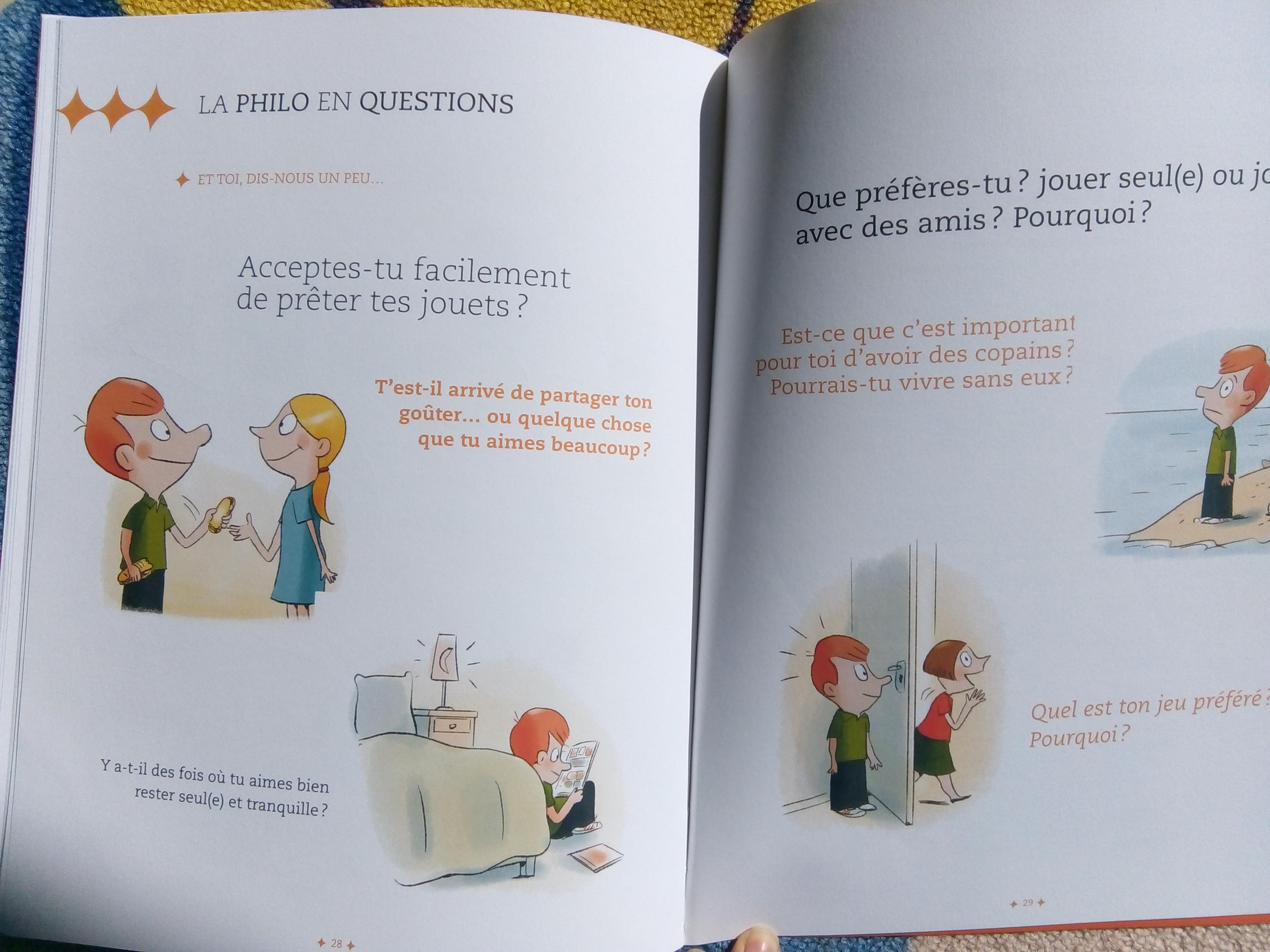 livre enfant veut pas partager
