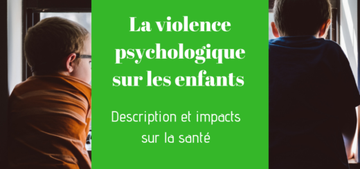La violence psychologique enfants