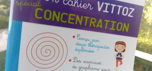cahier concentration enfants