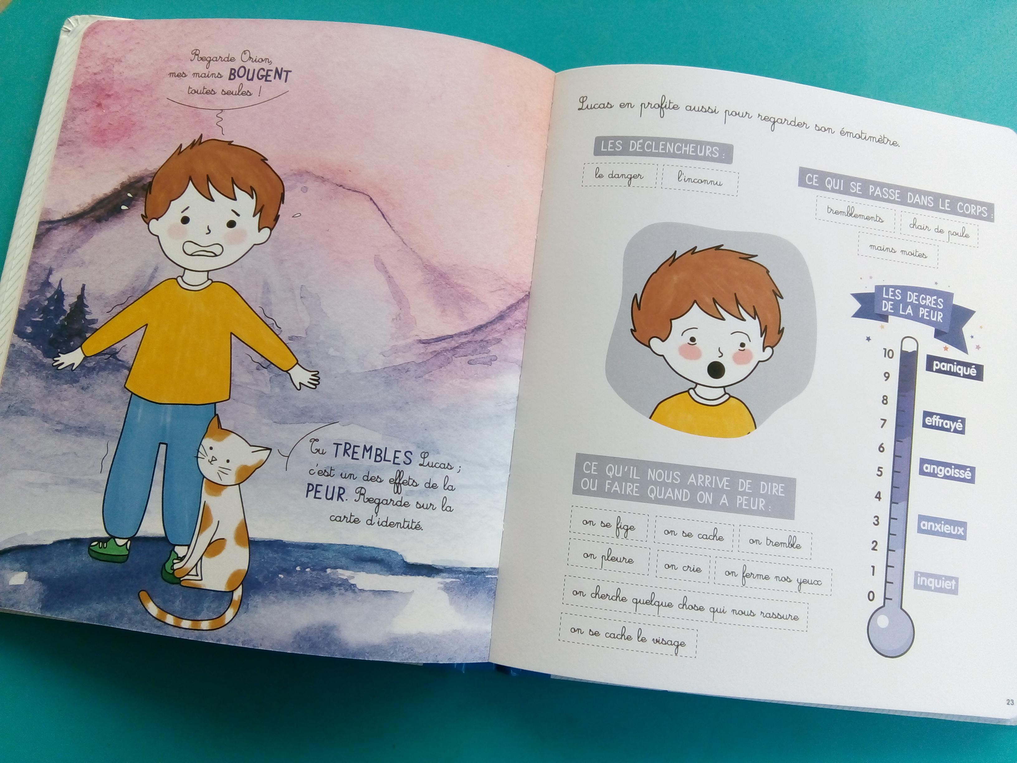 livre émotions enfants
