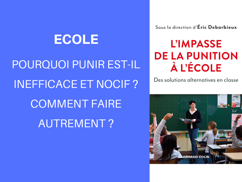 punition à l'école inefficace