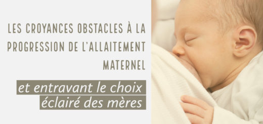 obstacles allaitement