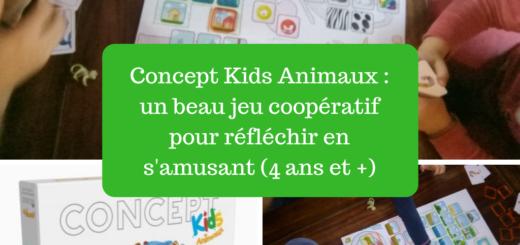 Concept Kids Animaux jeu coopératif