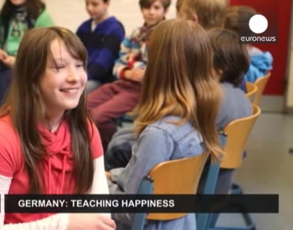 éducation positive à l'école Allemagne cours de bonheur