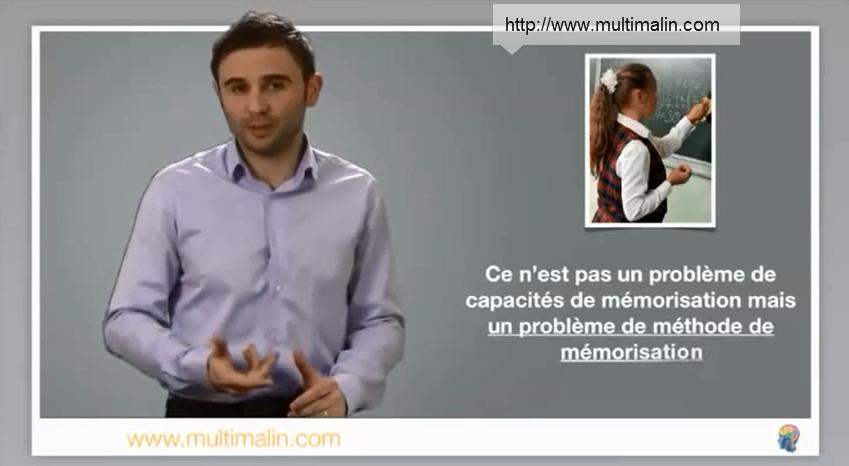 probleme de méthode de mémorisation des tables de multiplication