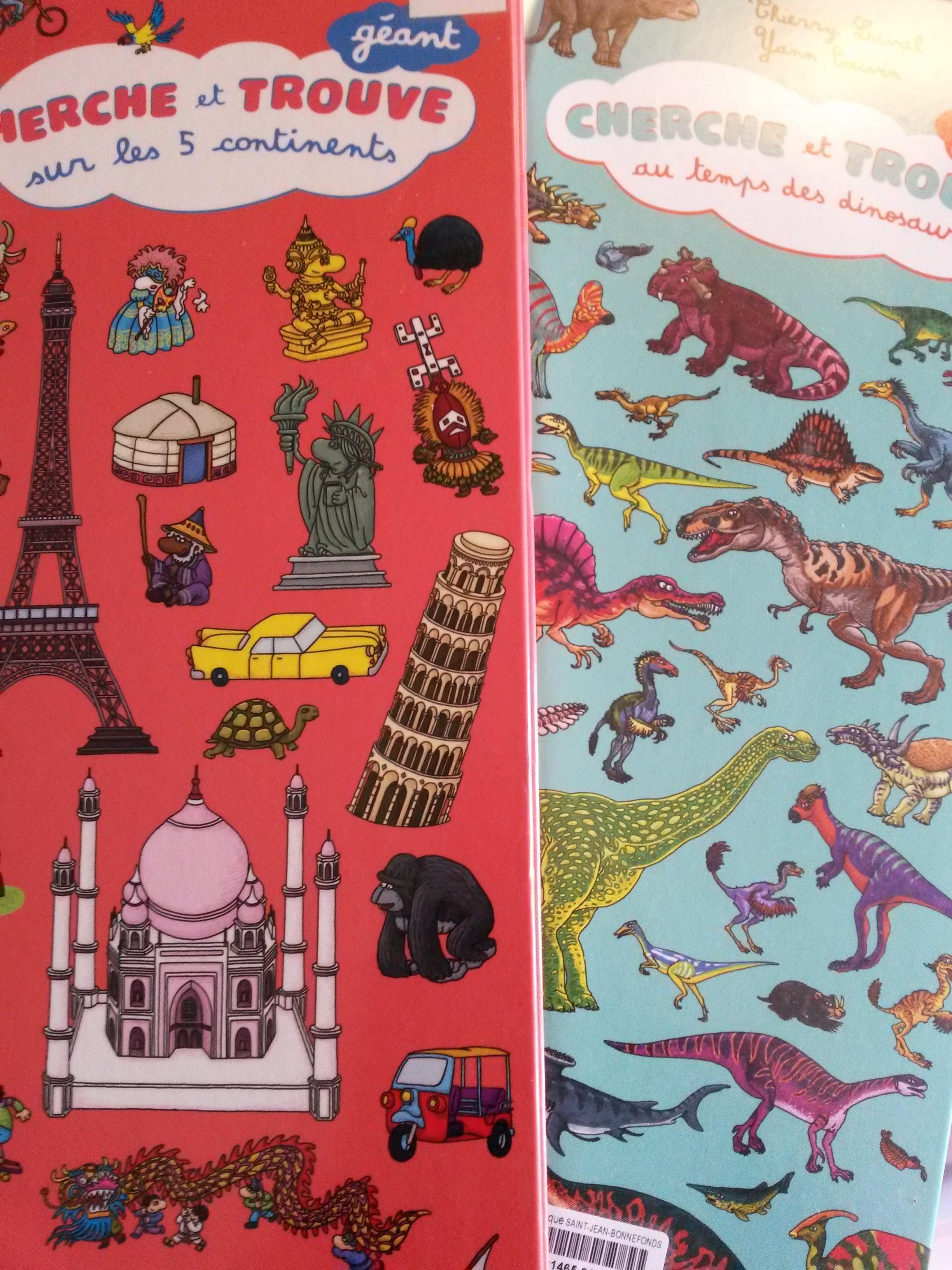 Cherche Et Trouve Observation Et Decouverte Du Monde