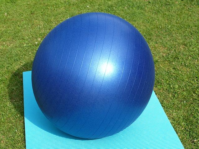 ballon pour jeux sensoriels et moteurs
