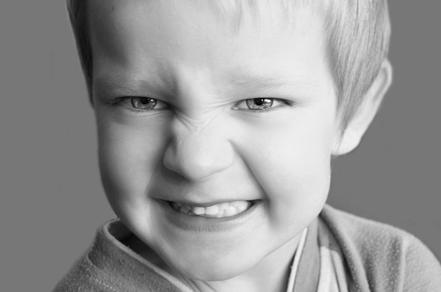 crises de colère des enfants