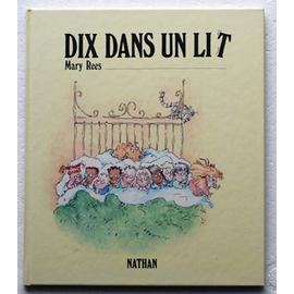 dix dans un lit livres à compter