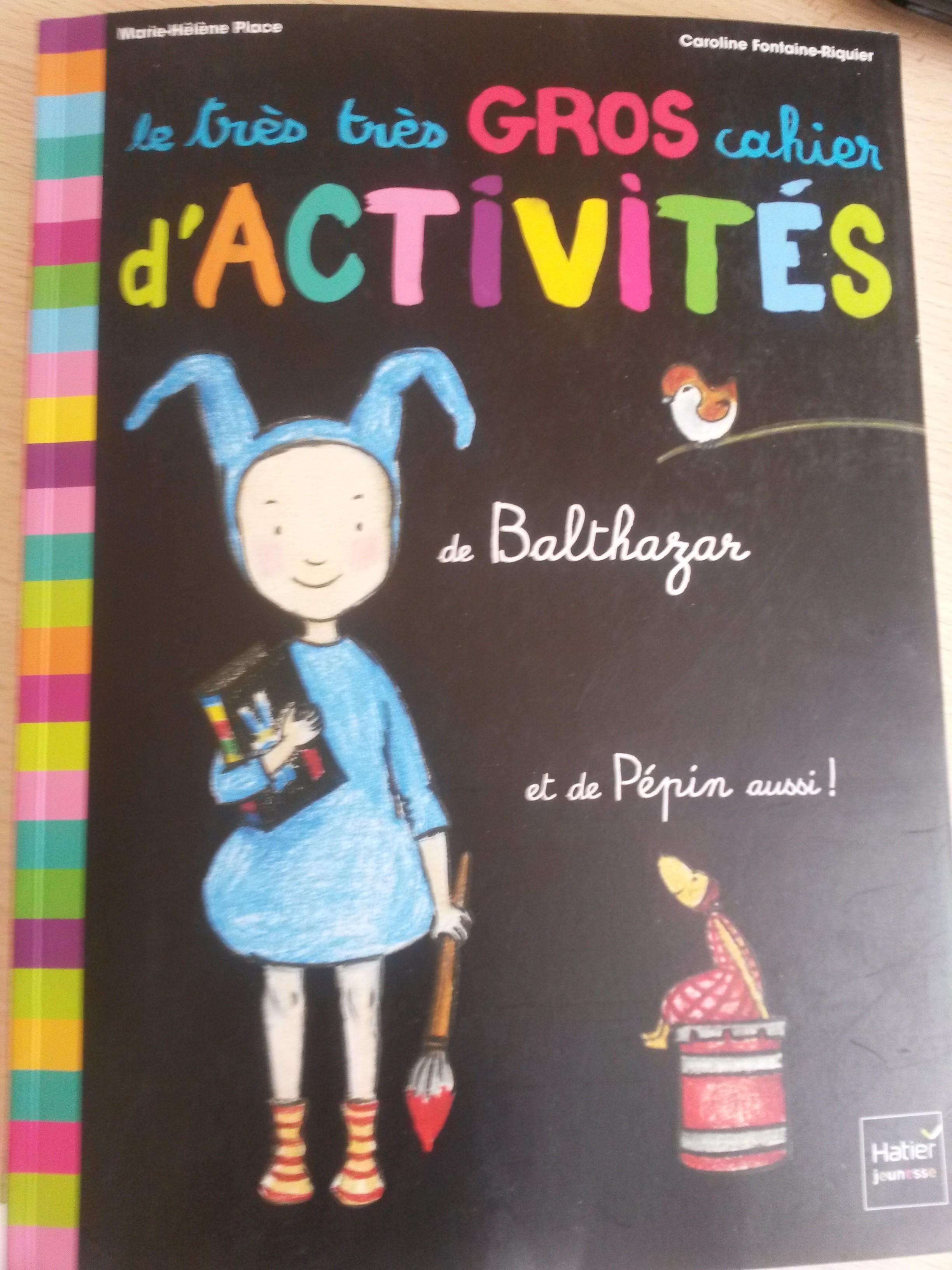 le très très gros cahier d'activités de Balthazar Montessori