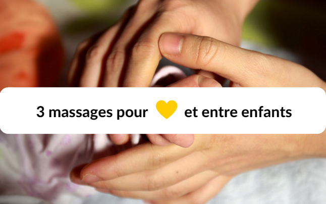 massage entre enfants