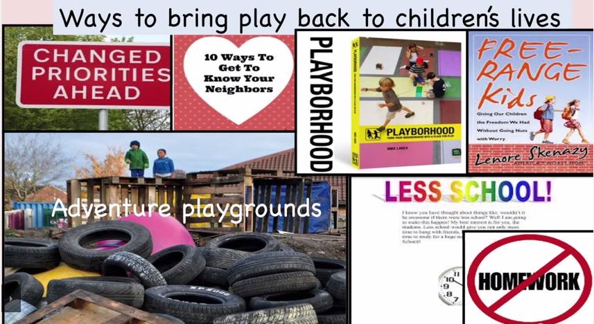 comment réintroduire le jeu libre dans nos sociétés