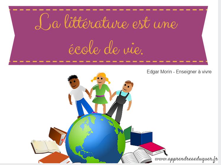 la littérature est une école de vie citation littératurela littérature est une école de vie citation littérature