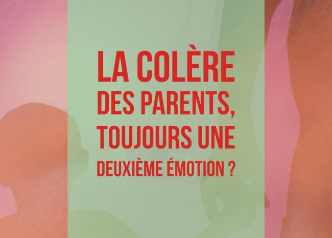 colère des parents